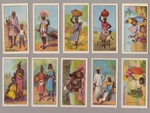 African Types, Raydex, CWS cigarette cards