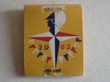 Festival of Britain matchbook