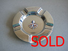 Chrome Ash tray, Festival Logo SOLD