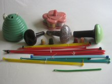 Link to vintage plastic sewing and knitting items