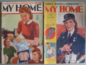 Fashion and home related ephemera